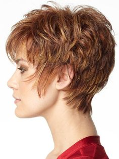 short hair styles for women over 50 by Muna......