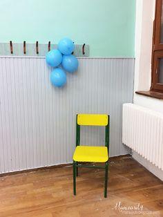DIY osztályterem felújítás - szürke vs. sárga