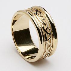 Beibhinn Celtic Knot Wedding Ring (C-360)