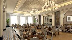 AD ArchiStudio on Behance Modern Villa Design, Moroccan Style, Conference Room, Behance, Spirit, Interior Design, Table, Furniture, Home Decor