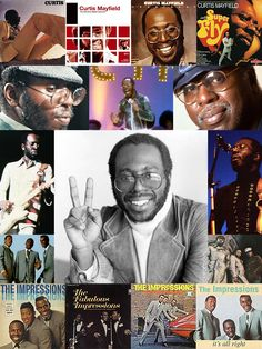 Curtis Lee Mayfield (June 3, 1942-December 26, 1999) was an American soul singer, songwriter, & record producer. From his anthemic music with The Impressions during the 60s Civil Rights Movement to composing film soundtracks like Super Fly & Sparkle, he's highly regarded as a pioneer of funk & of politically conscious African-American music. He won the Grammy Legend & Lifetime Achievement Awards, is a double inductee into The Rock & Roll Hall of Fame, & is a 2-time Grammy Hall of Fame…