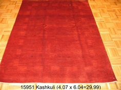 Kashkuli, 4-7 x 6-4 by A Rug For All Reasons   A fine-weave Gabbeh from Iran. Handspun wool and natural dyes, this rug is a one-of-a-kind piece of art. No longer being imported into the United States due to an embargo on Persian rugs, the Gabbehs, Kashkulis and Balouch Soumak rugs have become rare and sought after. The tribal designs and beautiful colors make them very special rugs.