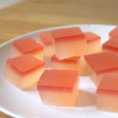 Champagne Rhubarb Jelly Shots on Food52