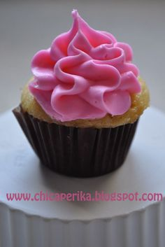 Chica Perika: Receta de los mejores Cupcakes de Vainilla   Recetas   Costura   Manualidades   Tutoriales
