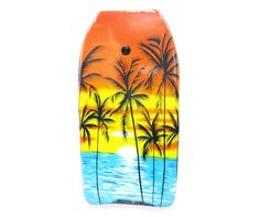"""We supply the boogie boards so you can hit the surf steps from Mission Beach Jamaica.  33"""" Sunset Bodyboard   Big Lots"""