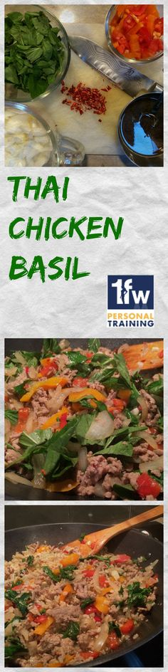 A weekly favorite in my house, this dish delivers clean protein and carbs with powerful flavor! Thai Chicken Basil