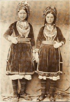 vlachs.......from Albania,  are thought to be the offspring of Roman soldiers who guarded  passes  in Albania.