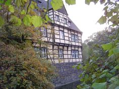 A half-timbered-house in Gladbeck, Westgermany
