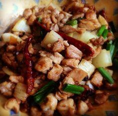 Gong Bao Chicken, Burmese style by meemalee, via Flickr