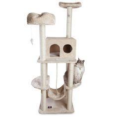 "76"" Casita Cat Tree Condo Scratching Post"