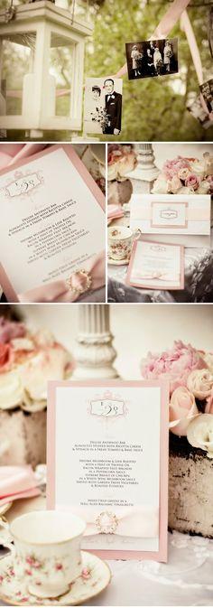 Pink Shabby Chic Style Inspiration | WeddingWire: The Blog