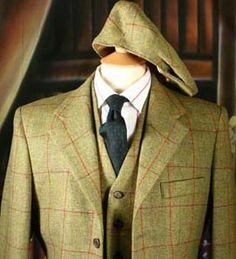 Tweed 3 Piece Suit.... THIS IS BADDDD!!!!