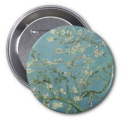 Check out all of the amazing designs that Dutch masters, Fine art has created for your Zazzle products. Make one-of-a-kind gifts with these designs! Van Gogh Almond Blossom, Blossom Trees, Vincent Van Gogh, Fine Art, Button, Gifts, Painting, Image, Design