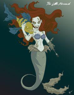 Scary Ariel by Jeffrey Thomas