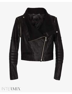 Shop for Detachable Sleeve Moto Leather Jacket by Yigal Azrouel at ShopStyle. Funny Outfits, Funny Clothes, Piece Of Clothing, Sweater Weather, Leather Fashion, Leather Jacket, Moto Jacket, Winter Fashion, Clothes For Women