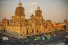 Catedral de Mexico.  Foto: Jorge Mc Loughlin