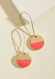 Stunning in Circles Earrings in Punch