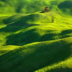 Spring in Tuscany. 2012  By Krzysztof Browko