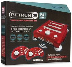 #videogames #Gamers #Hyperkin Hyperkin RetroN 3 Video Game System for NES/SNES/GENESIS Console 2.4Ghz Edition 69.58      Item specifics     Condition:        New: A brand-new, unused, unopened,...