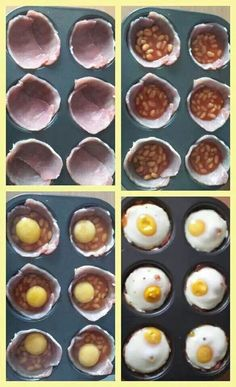 Syn free slimming world breakfast muffin Slimming World Fakeaway, Slimming World Snacks, Slimming World Breakfast, Slimming World Recipes Syn Free, My Slimming World, Sliming World, Quick And Easy Breakfast, Yummy Food, Healthy Food