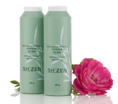 Put the spring back into ur step with Sh'Zen Deodorising foot powder for clean, dry, fresh feet all day long!