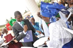 Handing-over the key to the church