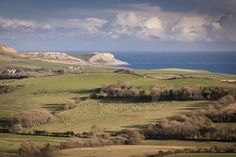 Picture number 2 on my Dorset Photographer web page is this picture of the view looking towards Kimmeridge and the coast from the Purbecks