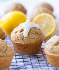 These Flourless Lemon Poppy Seed Muffins are naturally sweet with bright citrus flavor. They're whole grain, gluten-free, dairy-free and refined sugar-free! I think I'm starting to get really spoiled with these blender muffin recipes. I can't be bothered to take out bowls and spoons, or measure flour anymore. I mean, who has time for that? …
