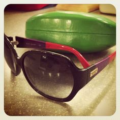 Kate Spade sunnies. You adorable little colorblocked things, you.
