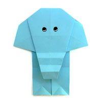 Origami Elefant und viele andere Origami-Tiere