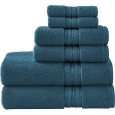 Bhg Thick And Plush Solid 6 Pc Set Towel