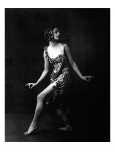 Vanity Fair - December 1921. Rose Rolando was a popular Broadway dancer and choreographer who married artist Miguel Covarrubias in 1930. Rolando performed in Rodgers and Hart's 'The Garrick Gaieties' and in Irving Berlin's 'Music Box Review.' Here, she appears in the Berlin show. Photograph by Arnold Genthe in the December 1921 Vanity Fair.