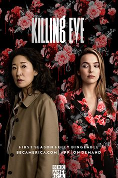 First Season Fully Bingeable Now! Killing Eve