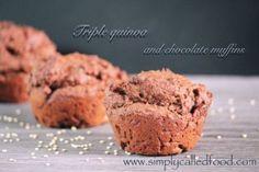 Triple Quinoa and Chocolate Muffins Recipe