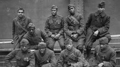 Une autre histoire du 6 juin 1944, celle des soldats Afro-américains. Soldats noirs américains avec la Croix de guerre Française.