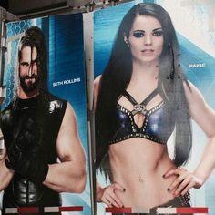 Seth Rollins & Paige