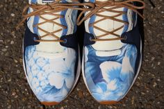 Le Coq Sportif LCS R 1400 Flowers - Dress Blue