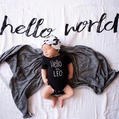 Name reveal bodysuit | new baby announcement | hello my name is | baby boy name shirt | baby girl name shirt | gender reveal announcement by PaisleyPrintsSpokane on Etsy https://www.etsy.com/au/listing/450928032/name-reveal-bodysuit-new-baby