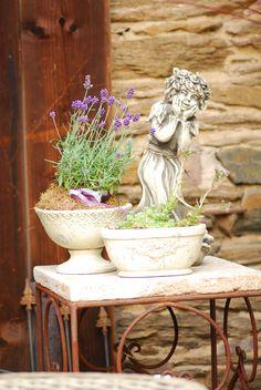 muscheln, scheune, altes gemäuer, eisen & rost, vintage & shabby, Garten Ideen