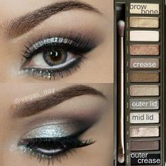 Loving this nude shadow pallet!