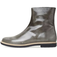 MM6 by Maison Martin Margiela Waxed Boot ($640) found on Polyvore