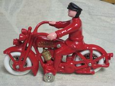 1929 Model JD Harley-Davidson Cast Iron Toy