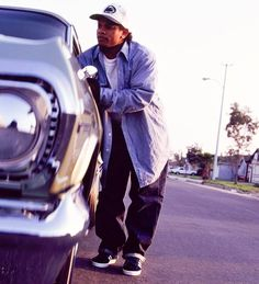 "90shiphopraprnb: ""Eazy-E | Norwalk, CA - 1994 | Photo by Chi Modu """