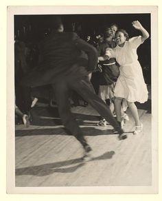 Couple Dancing the Jitterbug — New York, 1940s