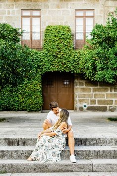 My kind of Sunday. Ana & Miguel in the pretty city of Guimarães. Engagement Dresses, Engagement Session, Portugal, Hipster, Beautiful, Pretty, Sunday, Wedding, City