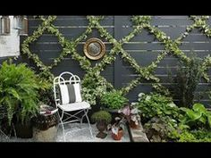 Build a Chic and Easy DIY Garden Trellis Uninterested in the identical outdated backyard mattress stuffed with flowers? You may create a vertical backyard in any a part of your yard with a trellis. This brings the attention upward and makes . Wire Trellis, Garden Trellis, Plants For Trellis, Trellis On Fence, Fence Garden, Lattice Fence, Garden Boxes, Diy Garden, Summer Garden