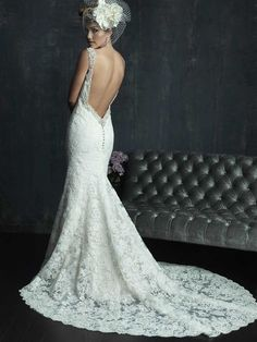 Latest Allure Bridals Wedding Dresses. To see more: http://www.modwedding.com/2014/05/03/allure-bridals-wedding-dresses-2014/ #wedding #weddings #wedding_dress