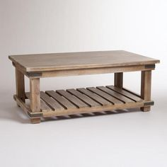 One of my favorite discoveries at WorldMarket.com: Cameron Coffee Table......LOVE