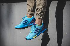 "adidas Originals ZX Flux Techfit ""Aqua"" 