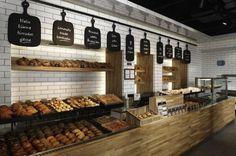 Modern Bakery Shop Interior Design In Traditional Mood Modern Bakery Bakery Shop Interior, Bakery Shop Design, Cafe Interior, Cafe Design, Interior Design, Store Design, Design Design, Display Design, Clean Design